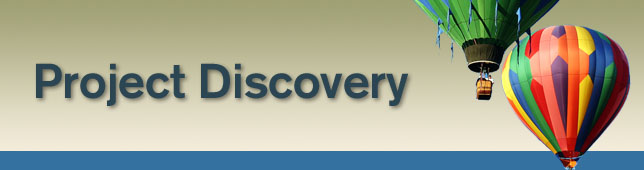 Project Discovery Banner